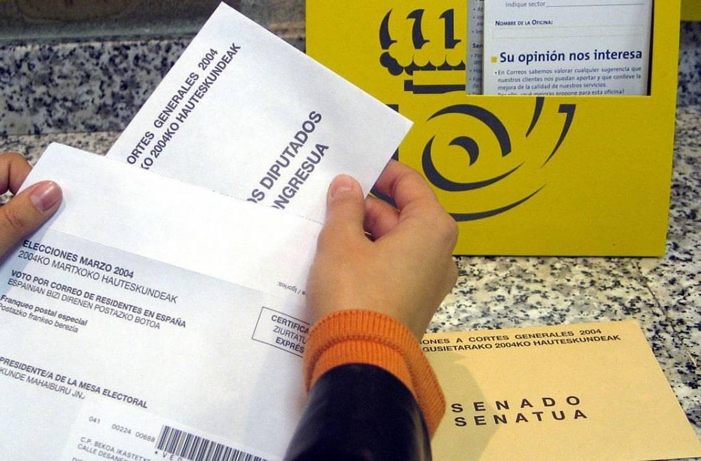 Cómo solicitar el voto por correo